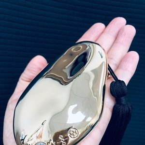 Alexis Bittar Compact Gold Mirror